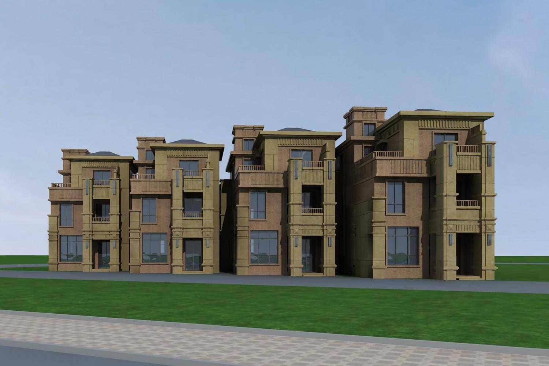 新古典风格联排别墅
