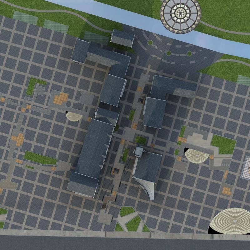 民国风格商业街