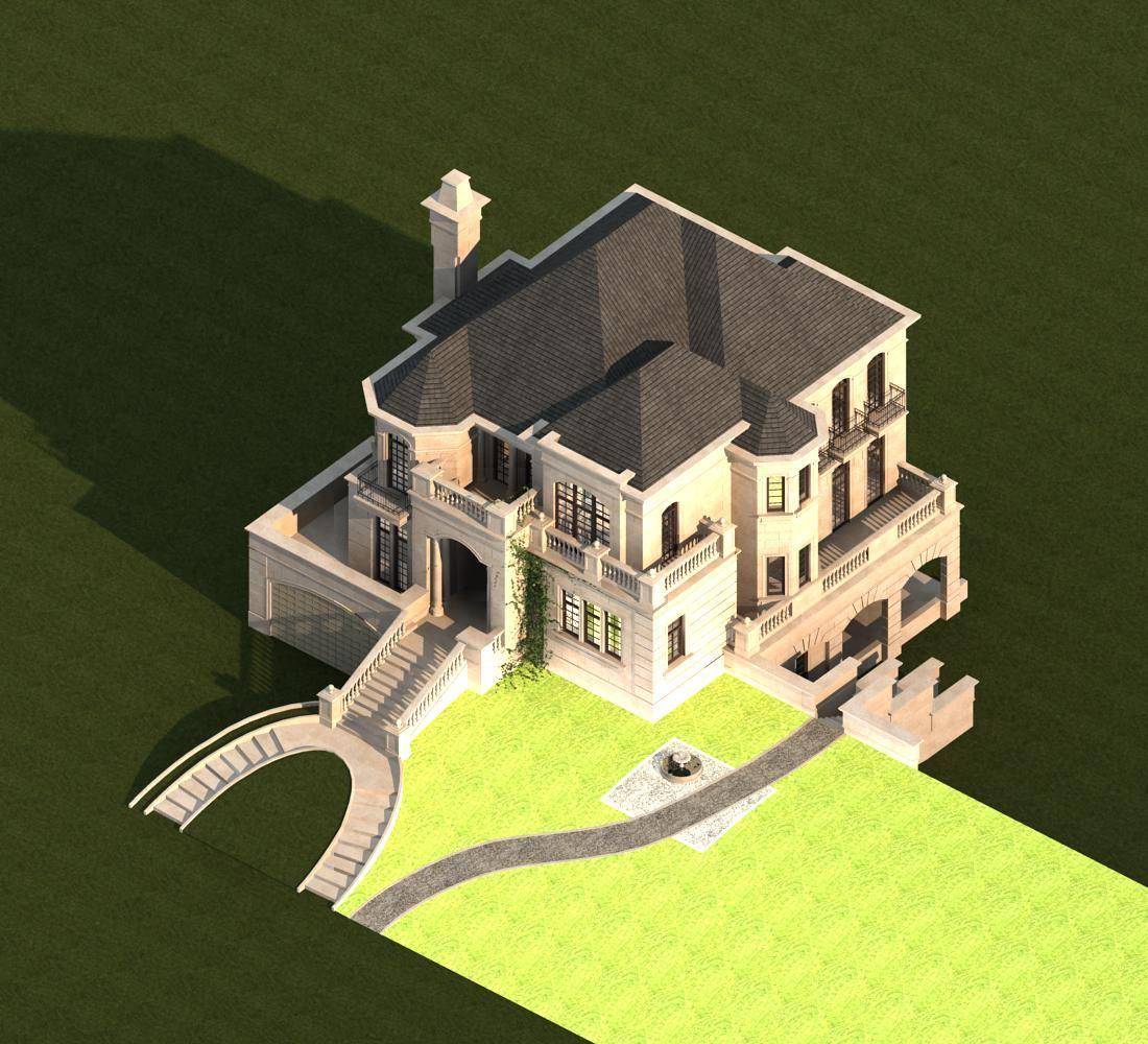 法式独栋别墅
