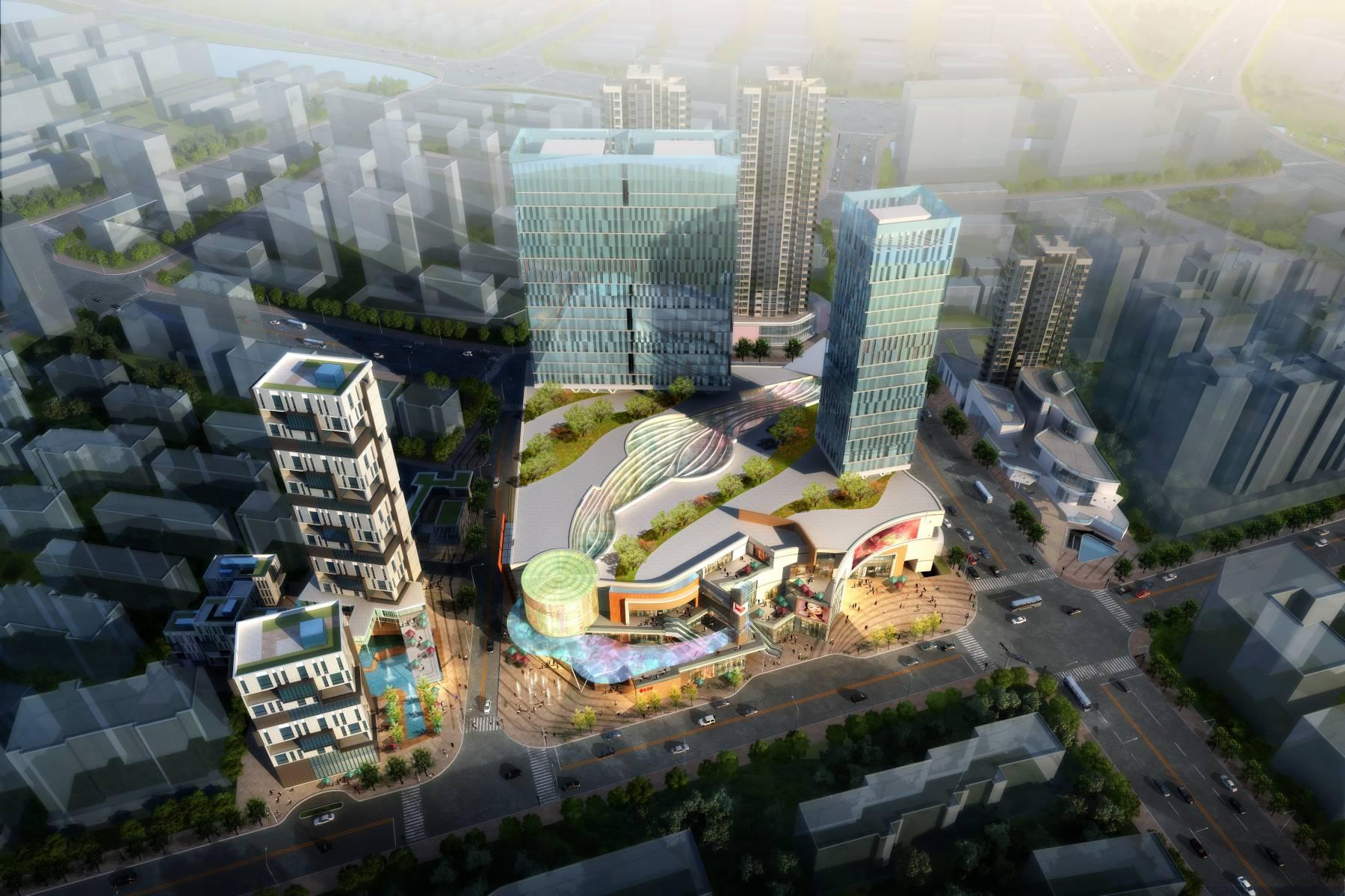 现代城市商业综合体
