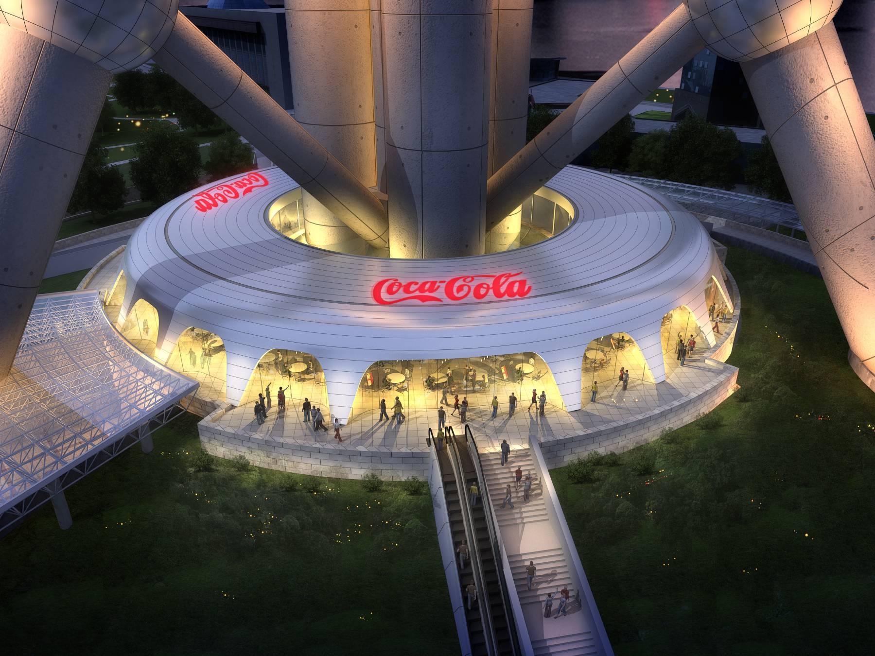 东方明珠可口可乐餐厅