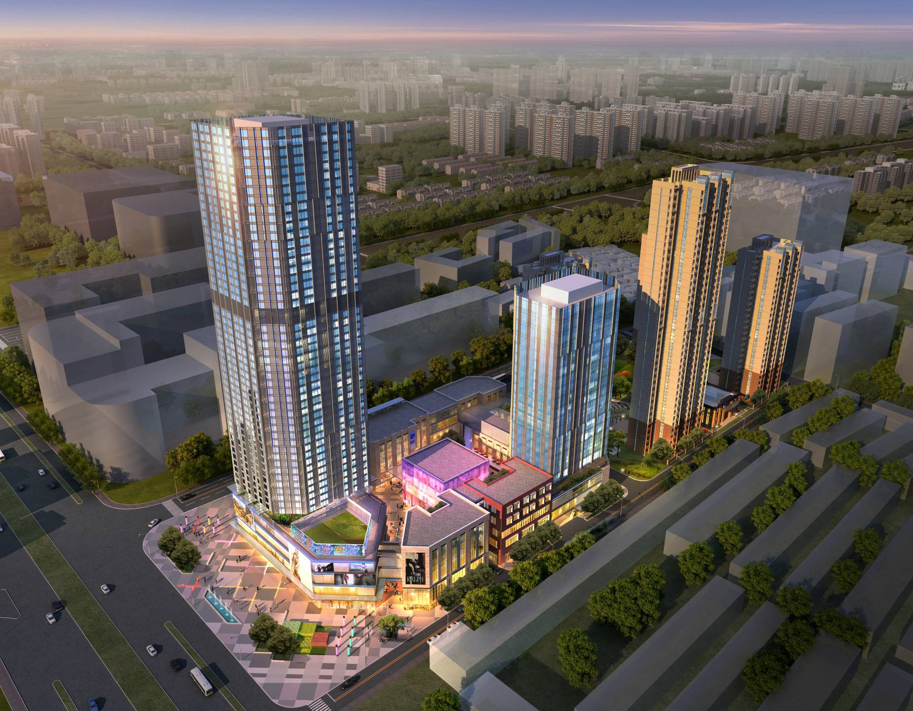 现代城市综合体
