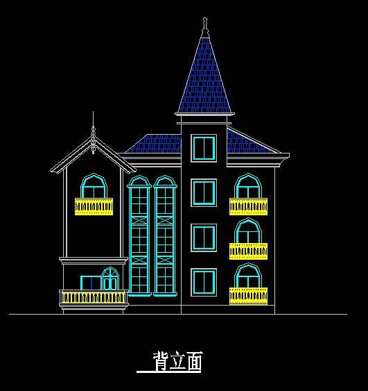 欧式风格D型别墅