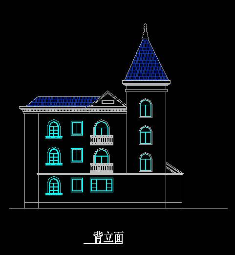 欧式风格C型别墅