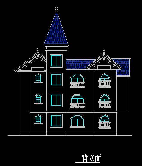 欧式风格B型别墅
