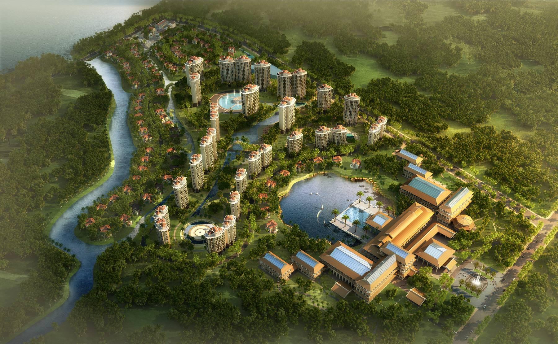 欧式住宅小区规划