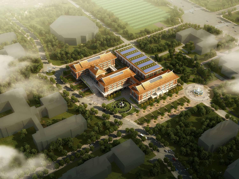 东南亚风格办公楼