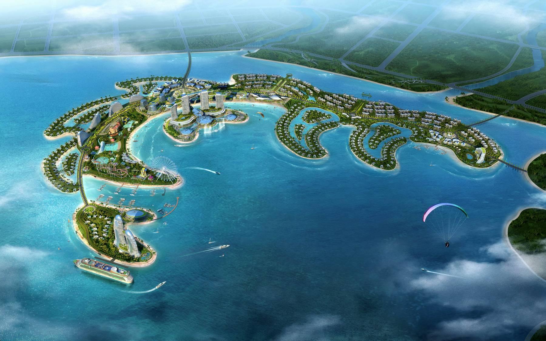儋州海花岛规划