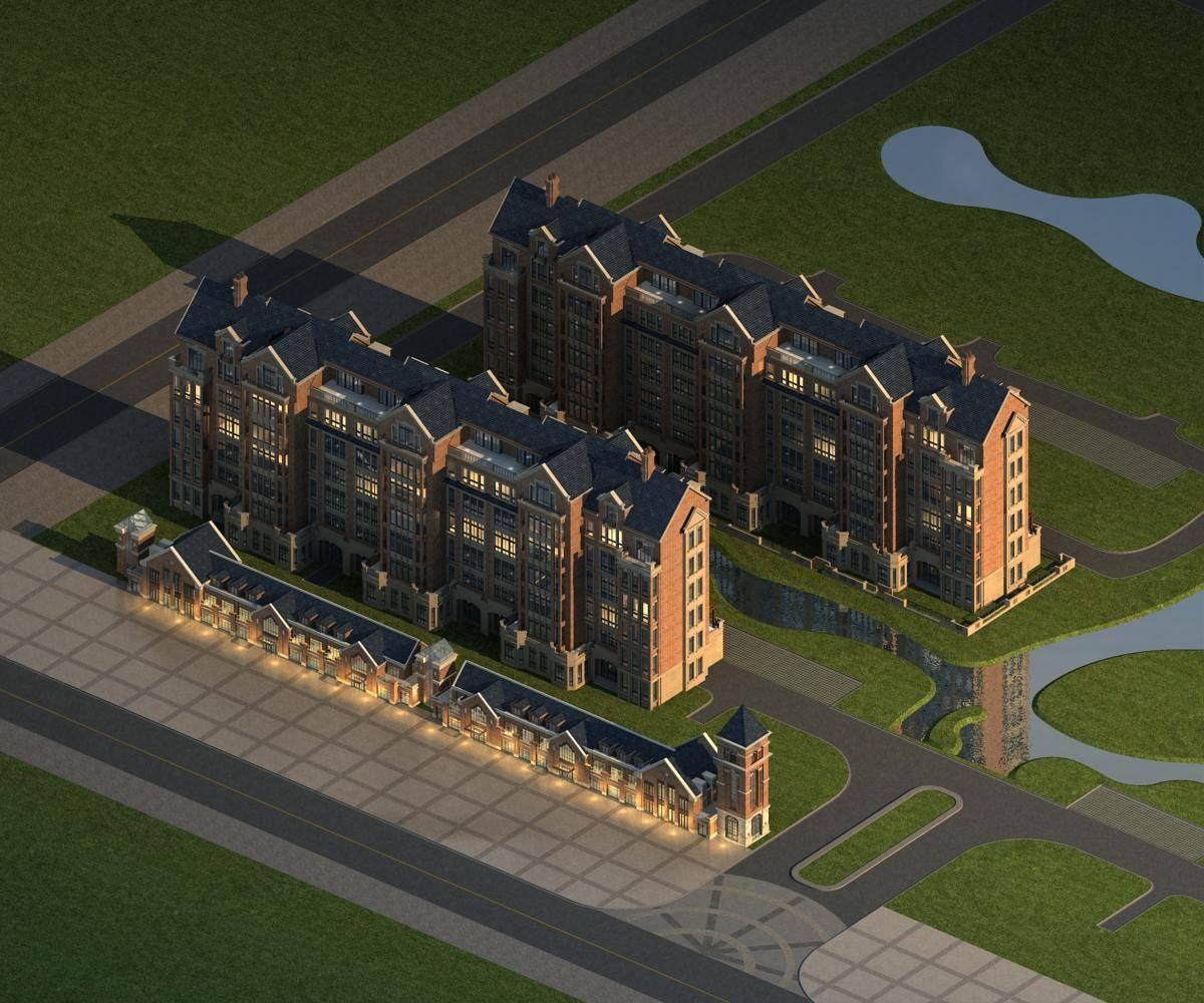 英式商业及住宅楼