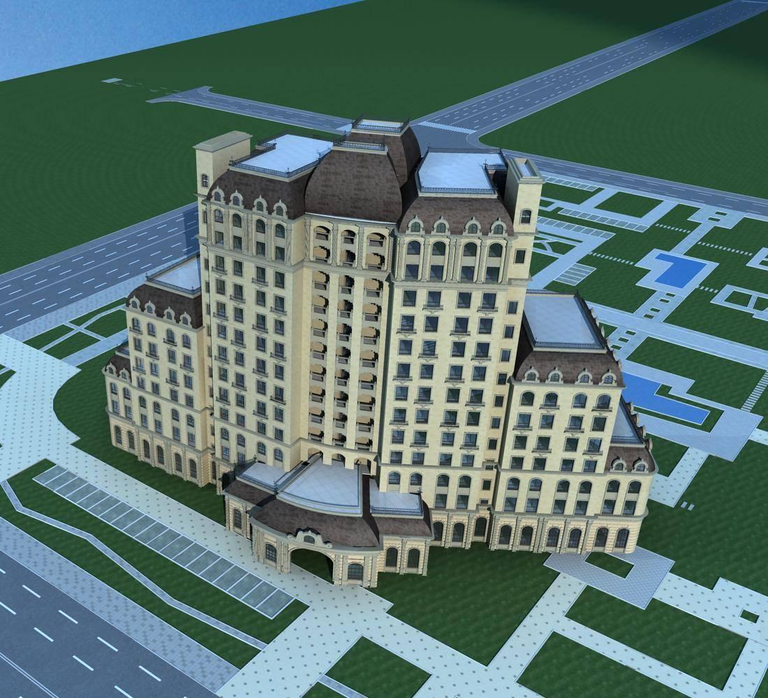 法式高层酒店