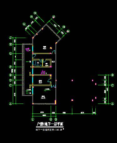 中式豪华别墅平立剖全