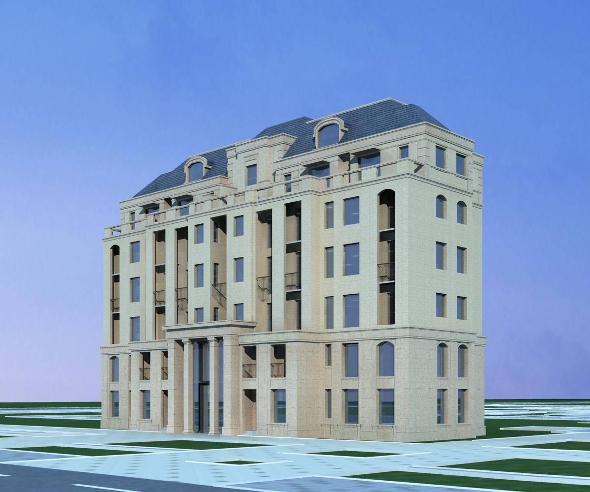 法式多层住宅楼