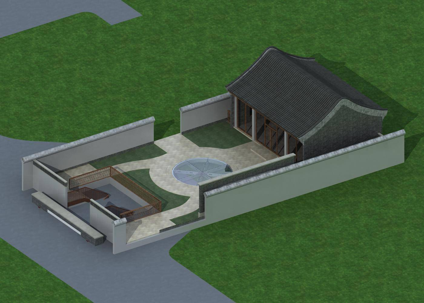 中式小别墅
