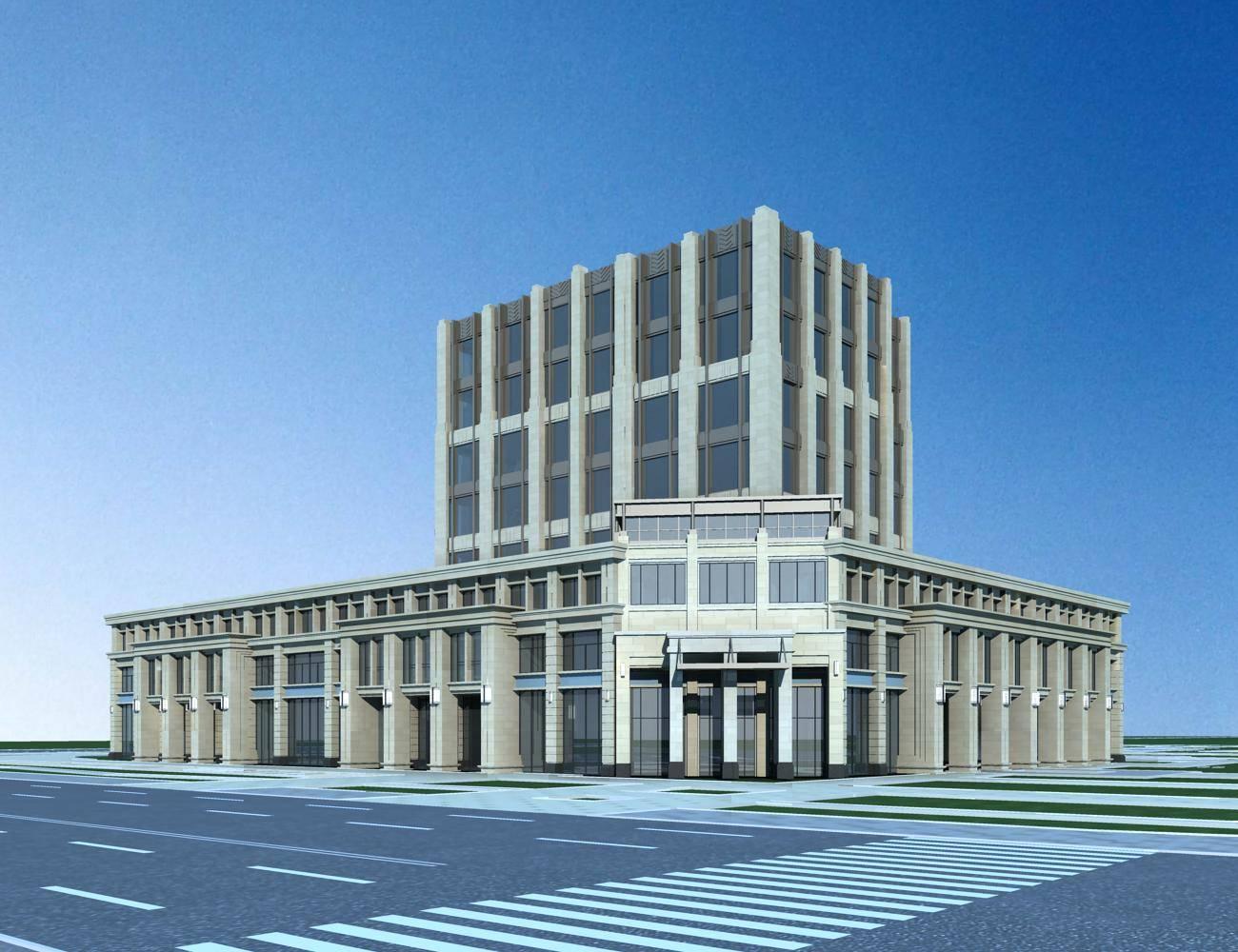 新古典风格商业办公楼