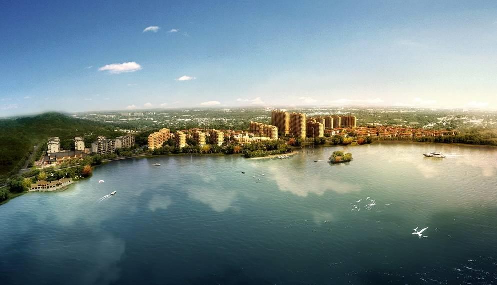 大型欧式住宅小区规划
