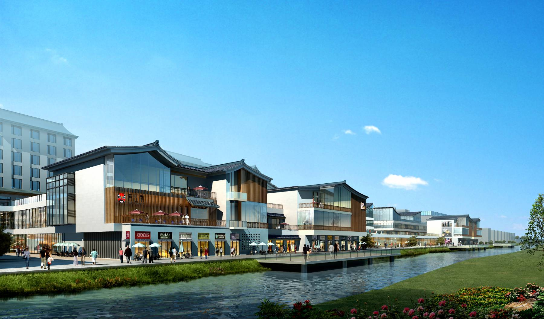 新中式商业街