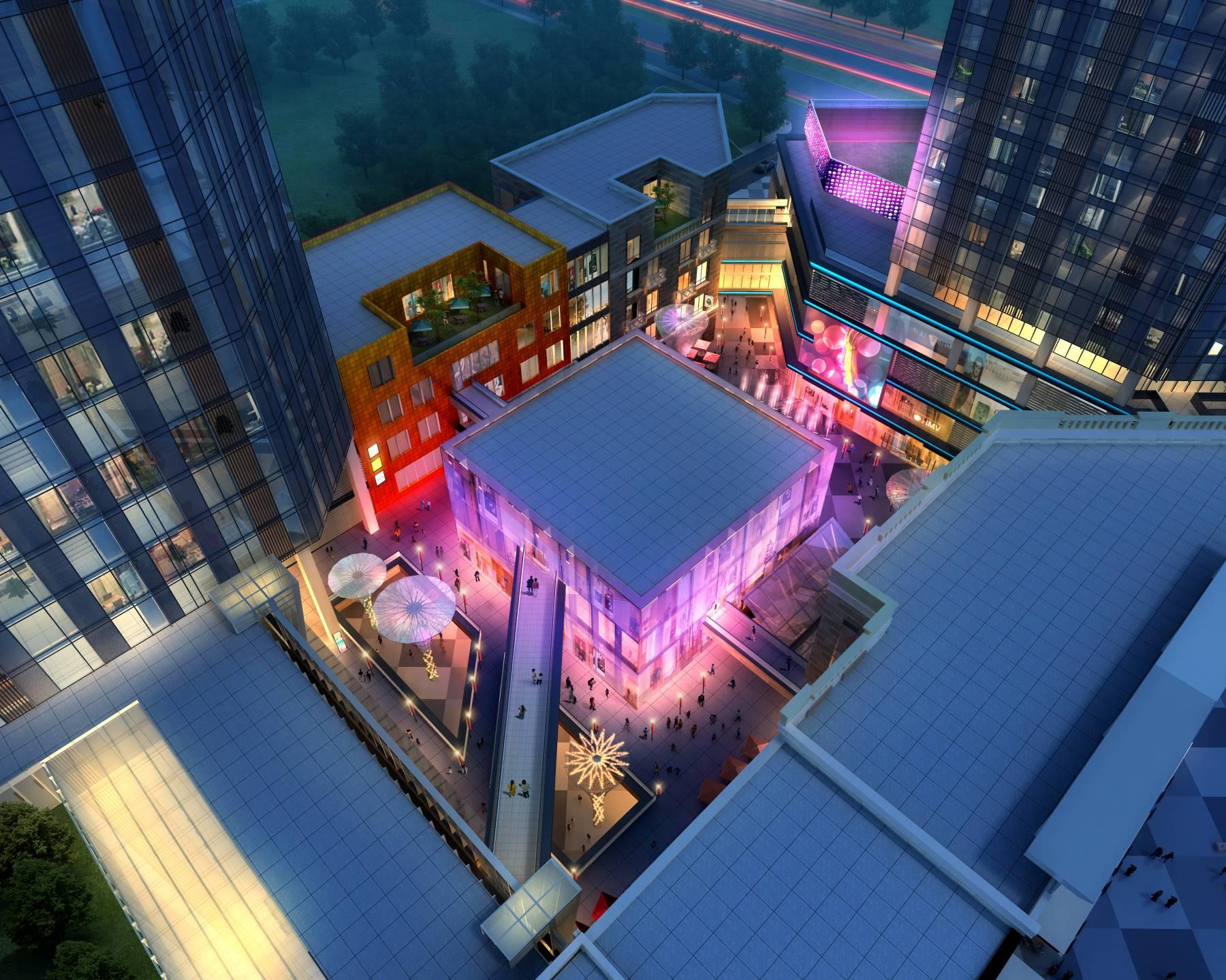 现代商业街