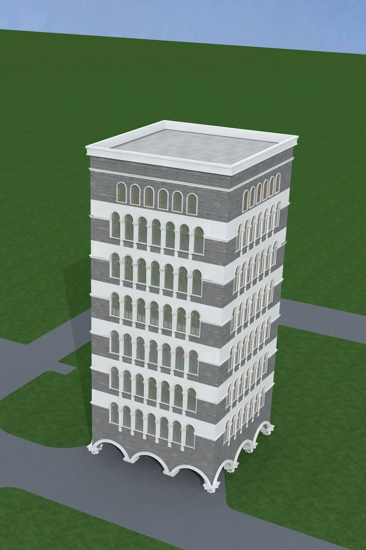 欧式多层商业楼