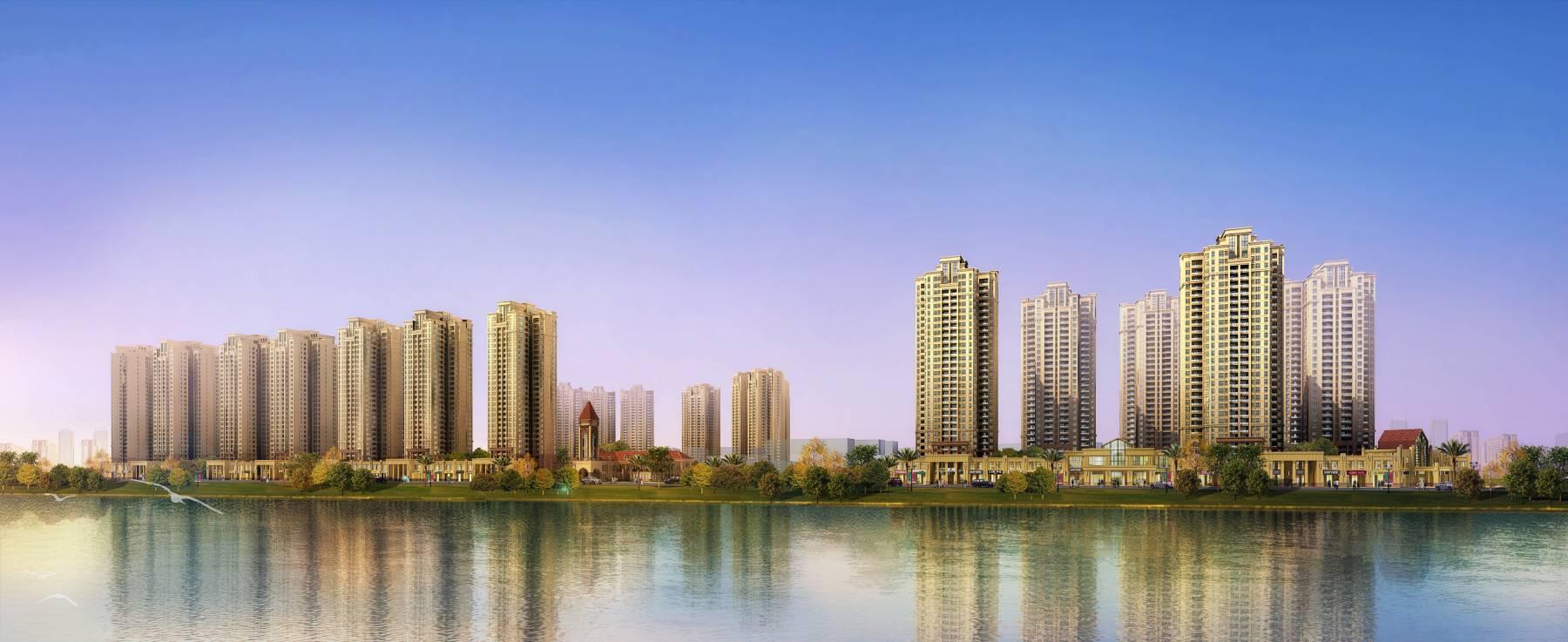 大型滨江商业住宅小区