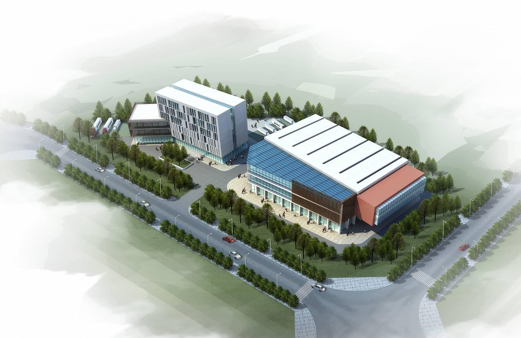 展览馆及办公楼