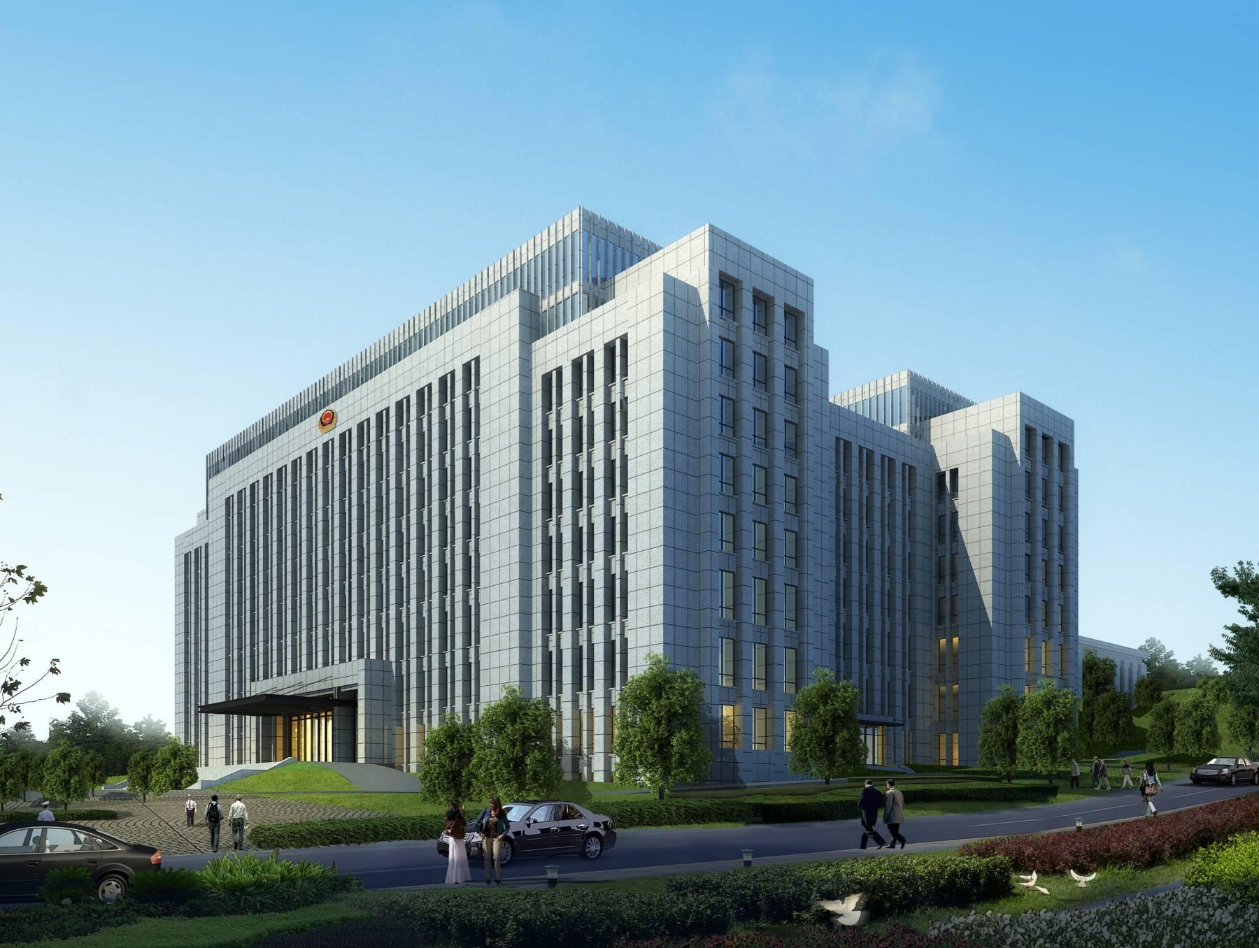 现代行政办公楼