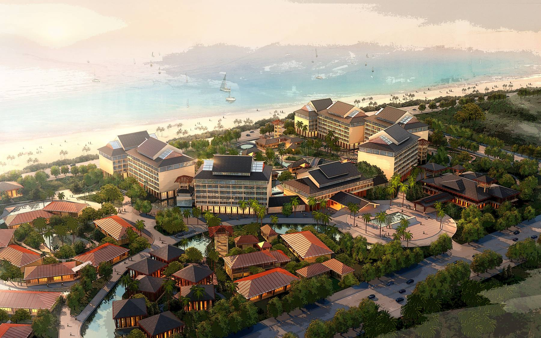 三亚湾渡假项目
