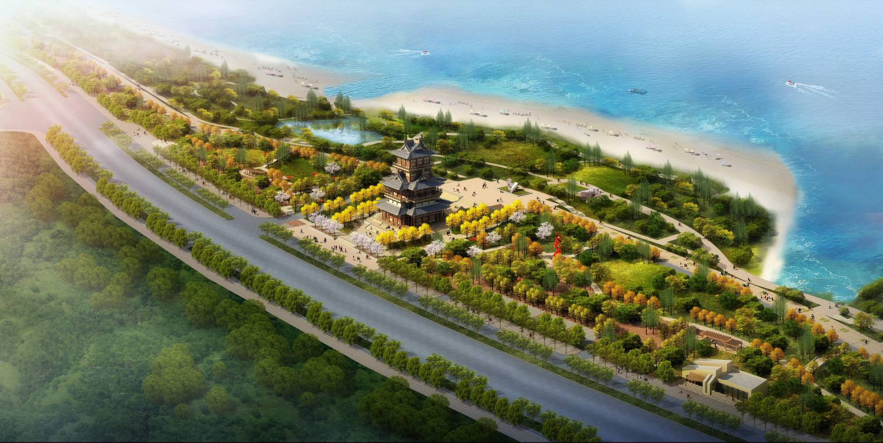 威海翡翠公园