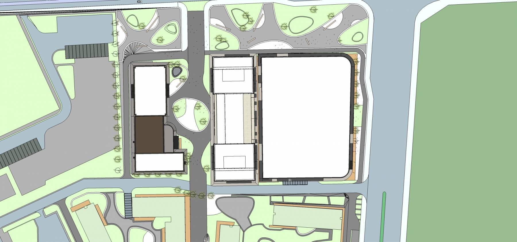 新古典风格商业楼及办公楼