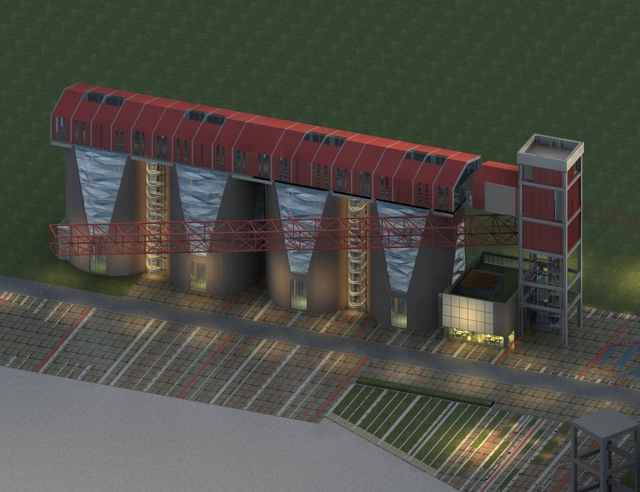 现代首钢厂