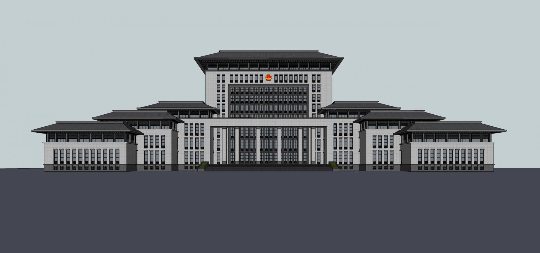 嘉峪关法院办公楼