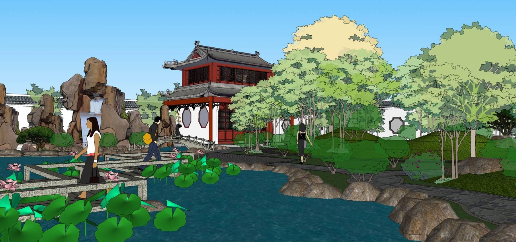 中式园林景观