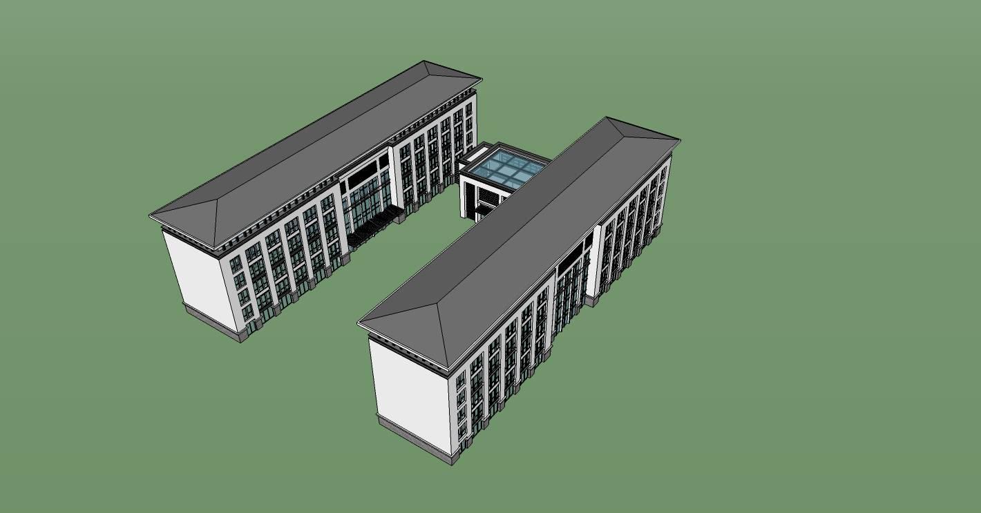 新中式风格办公楼