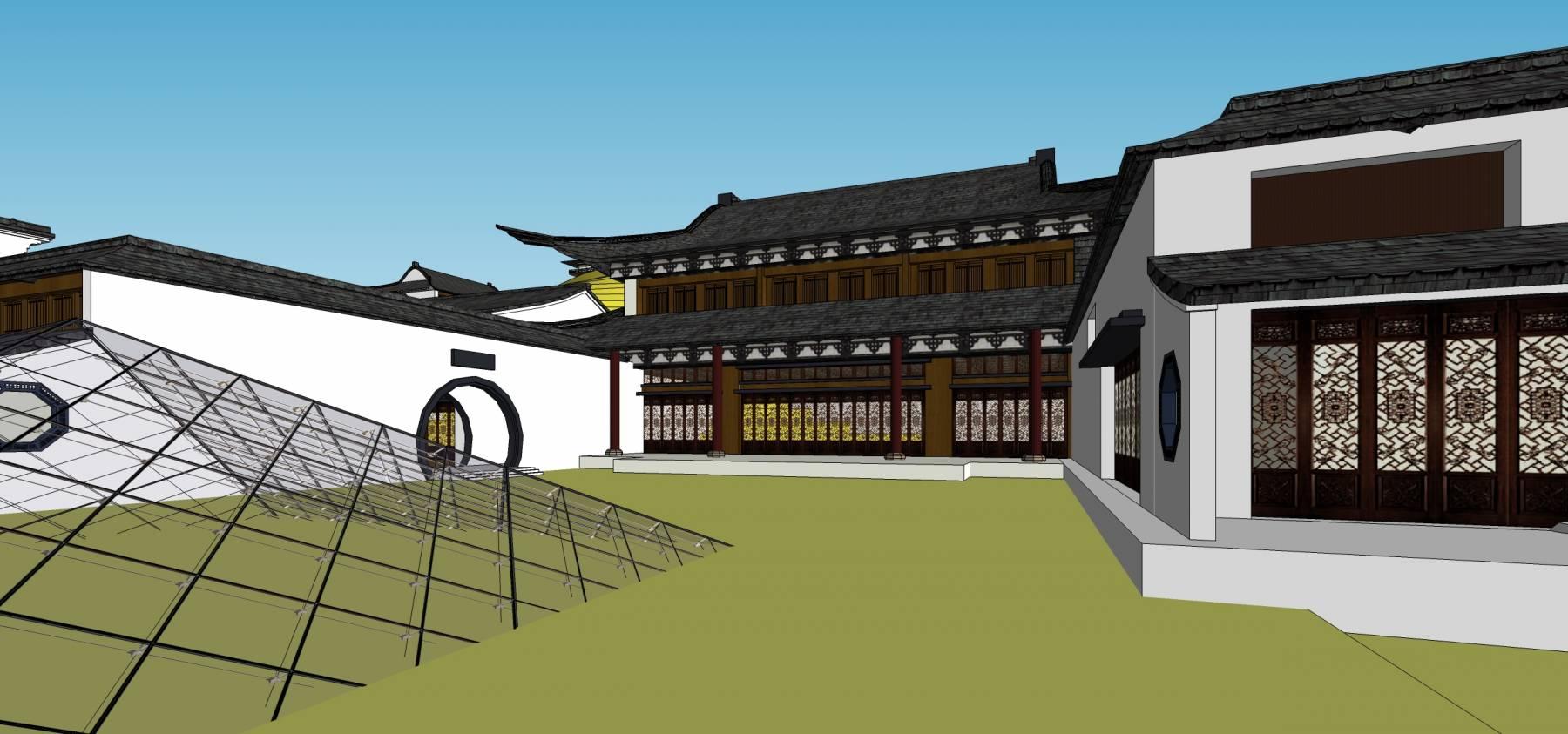 九华山古建规划