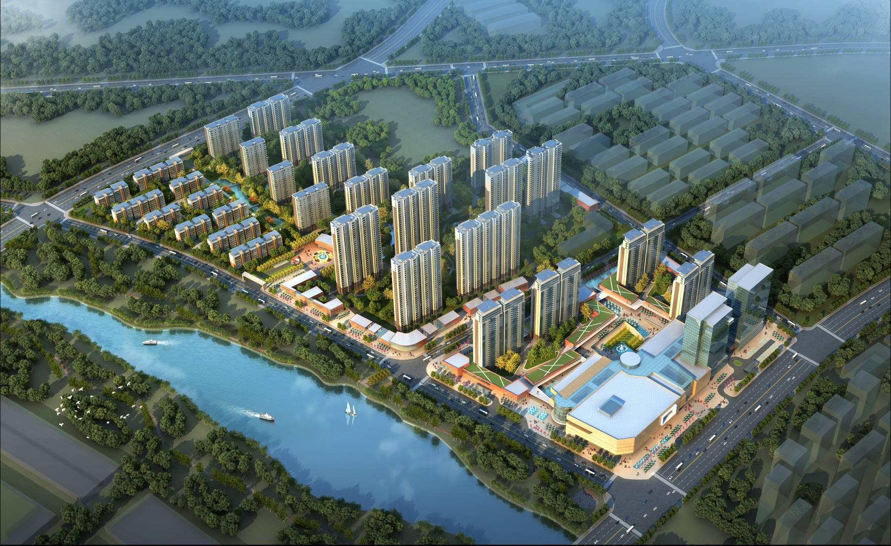 大型综合住宅小区