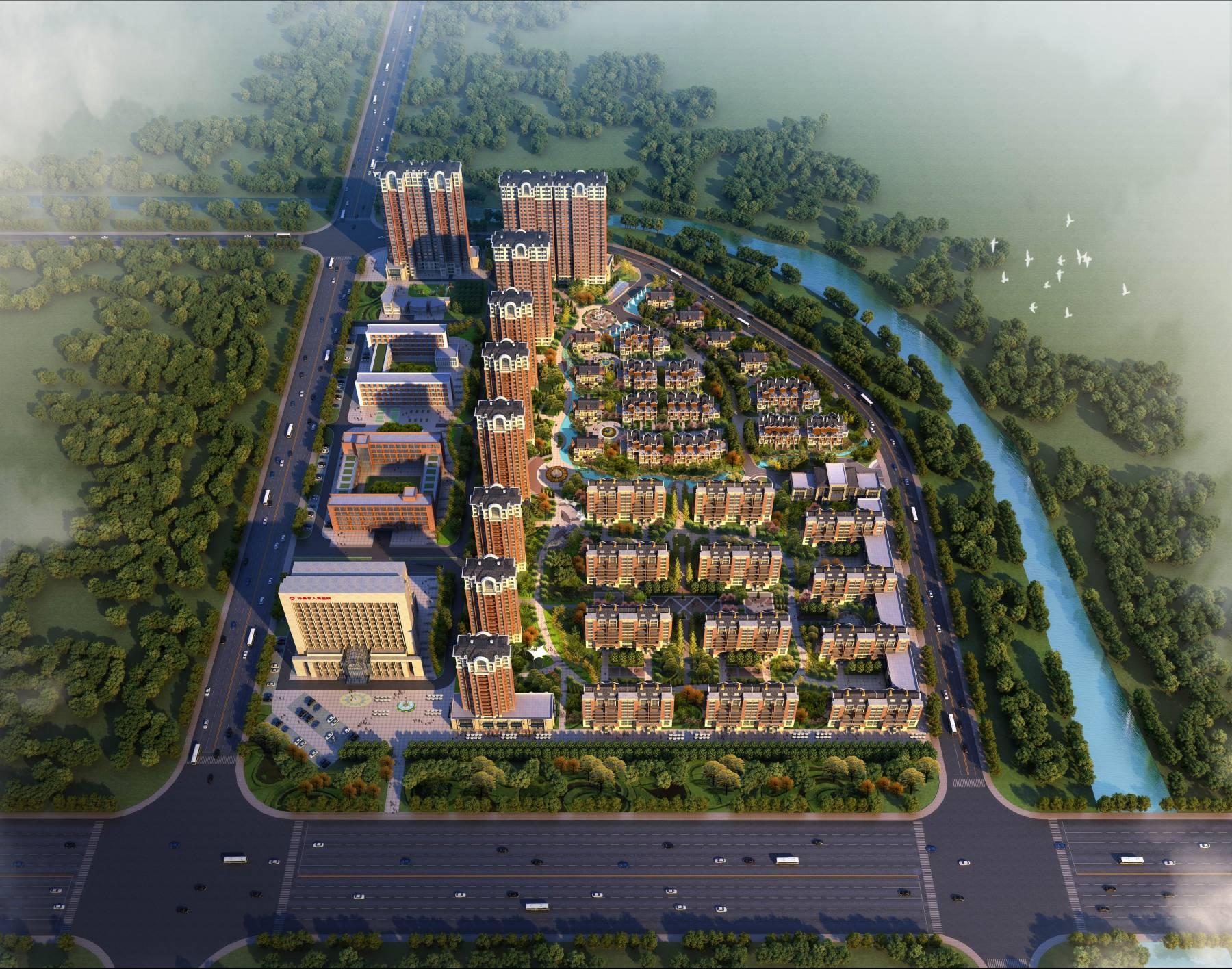 许昌人民医院及周边住宅