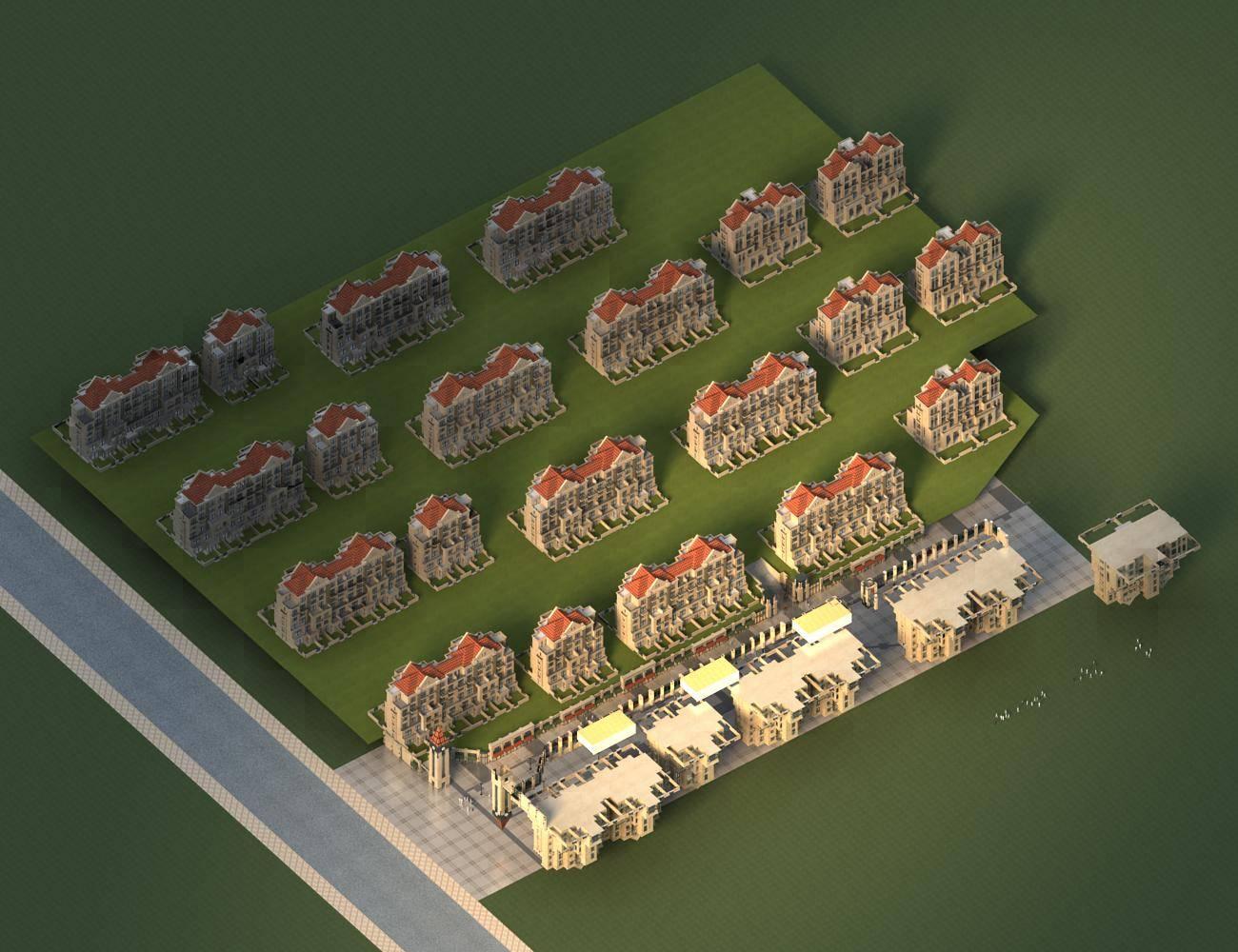 英式商业住宅小区