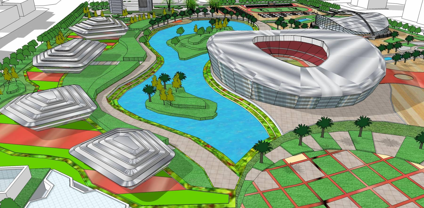 体育中心城市设计