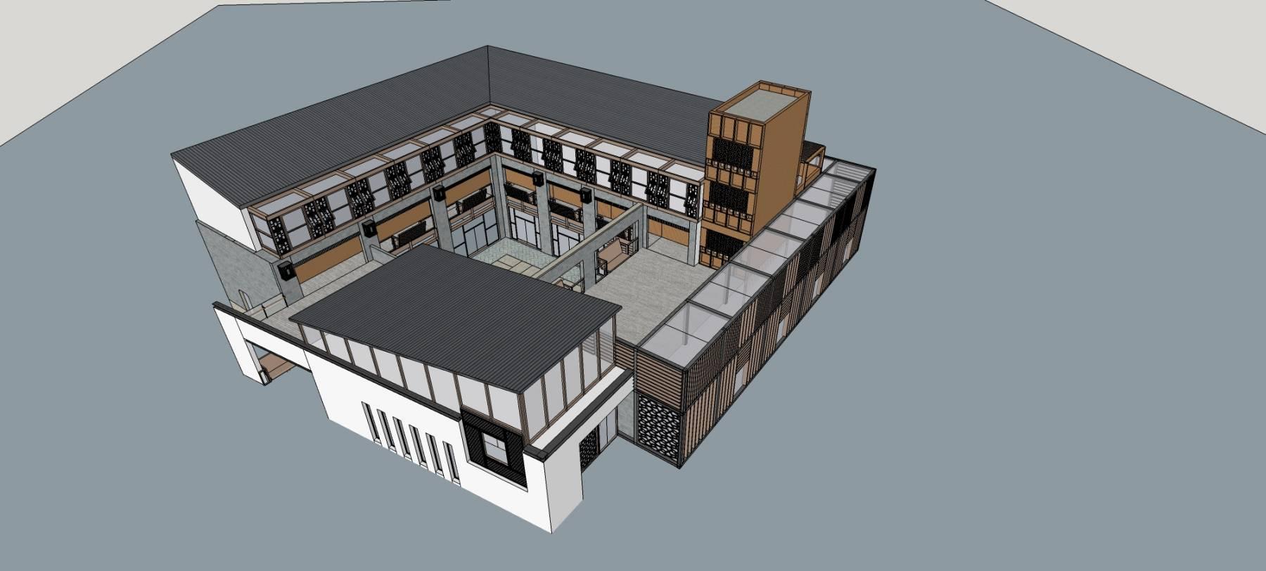 现代中式小商业楼