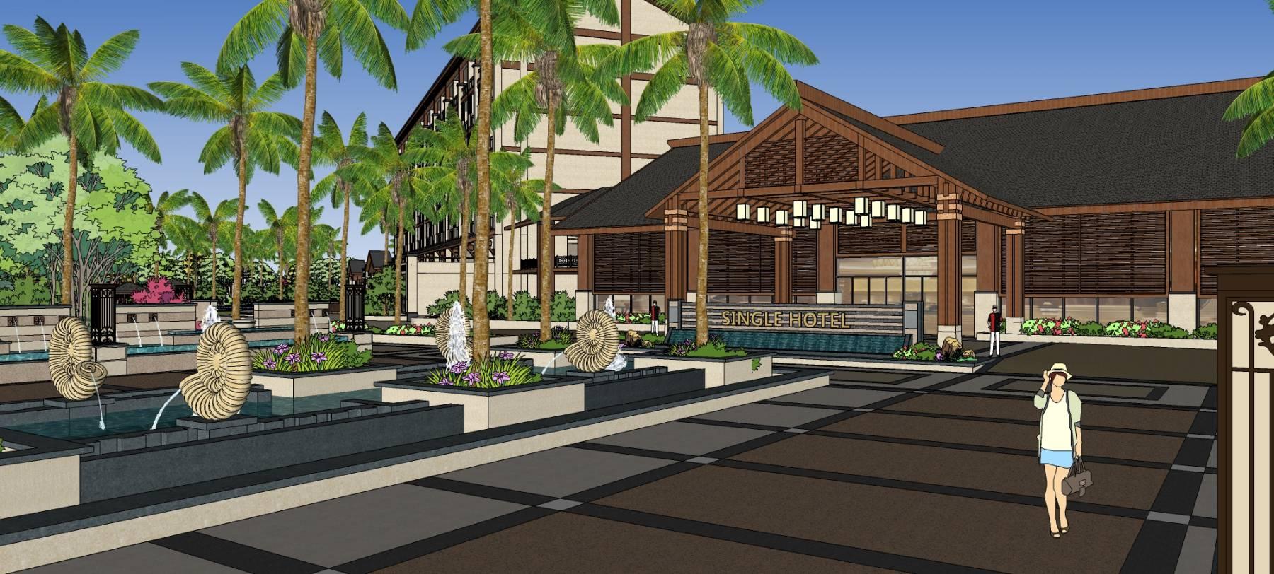東南亞風格度假酒店
