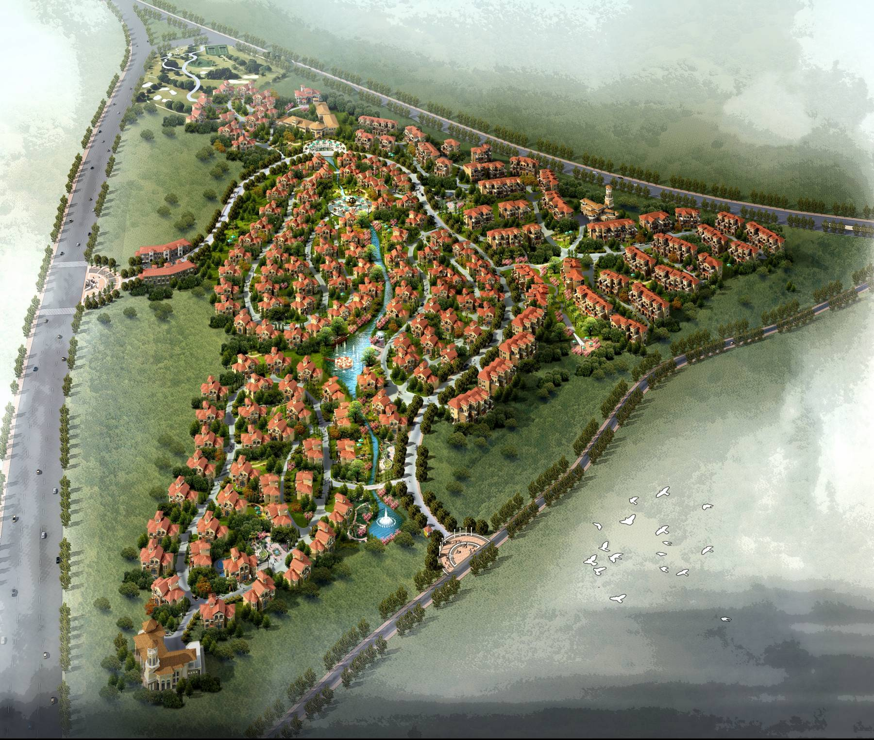 通化市开发区外国专家生活区规划