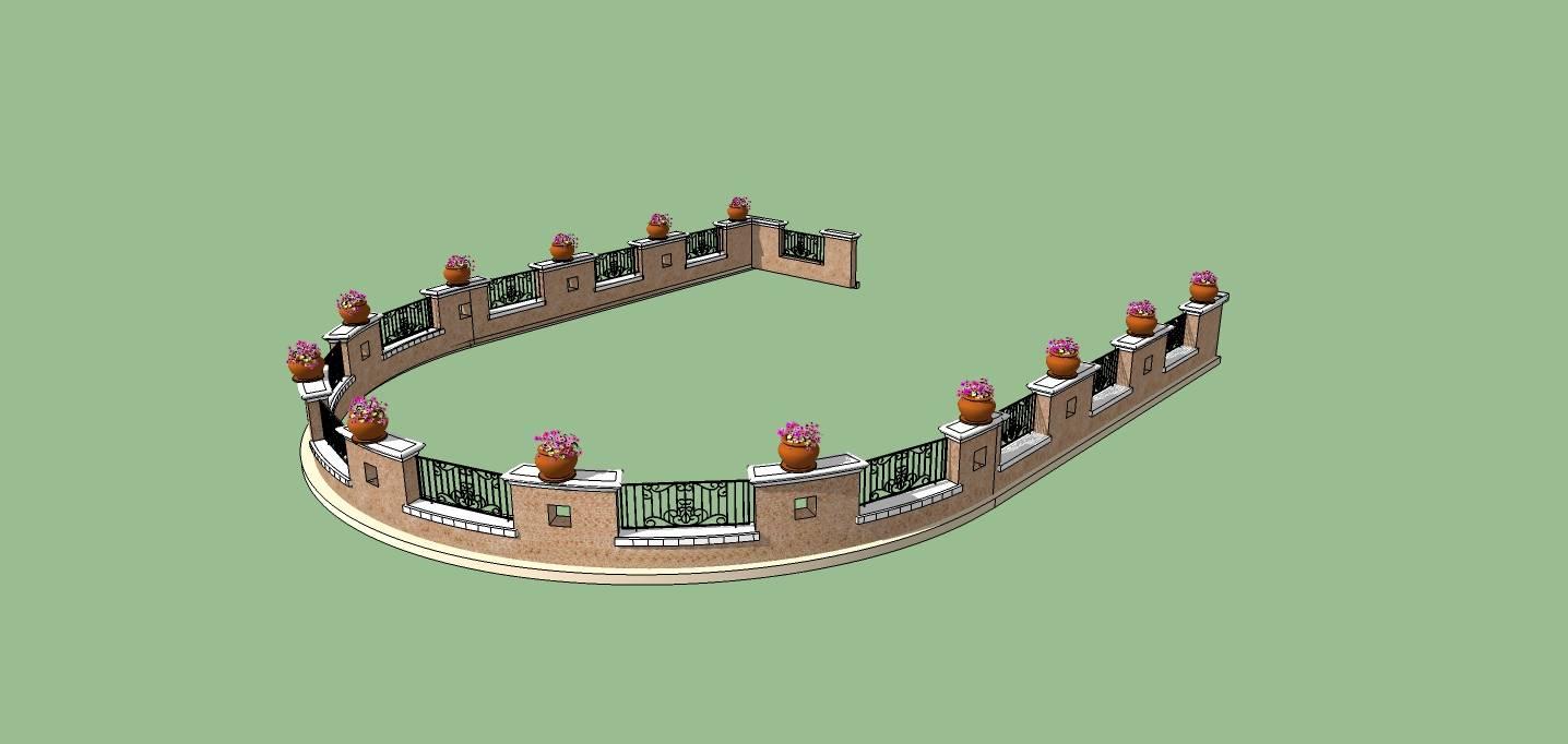 建筑构件-围栏