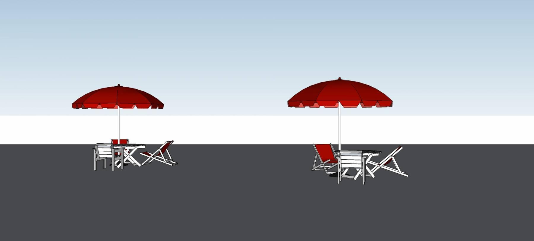 城市家具--露天座椅
