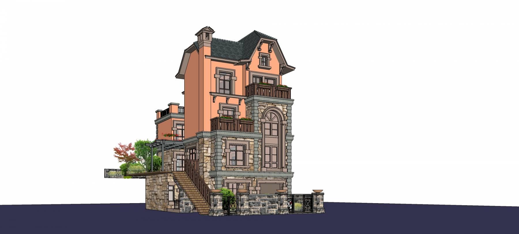 民国风格独栋别墅