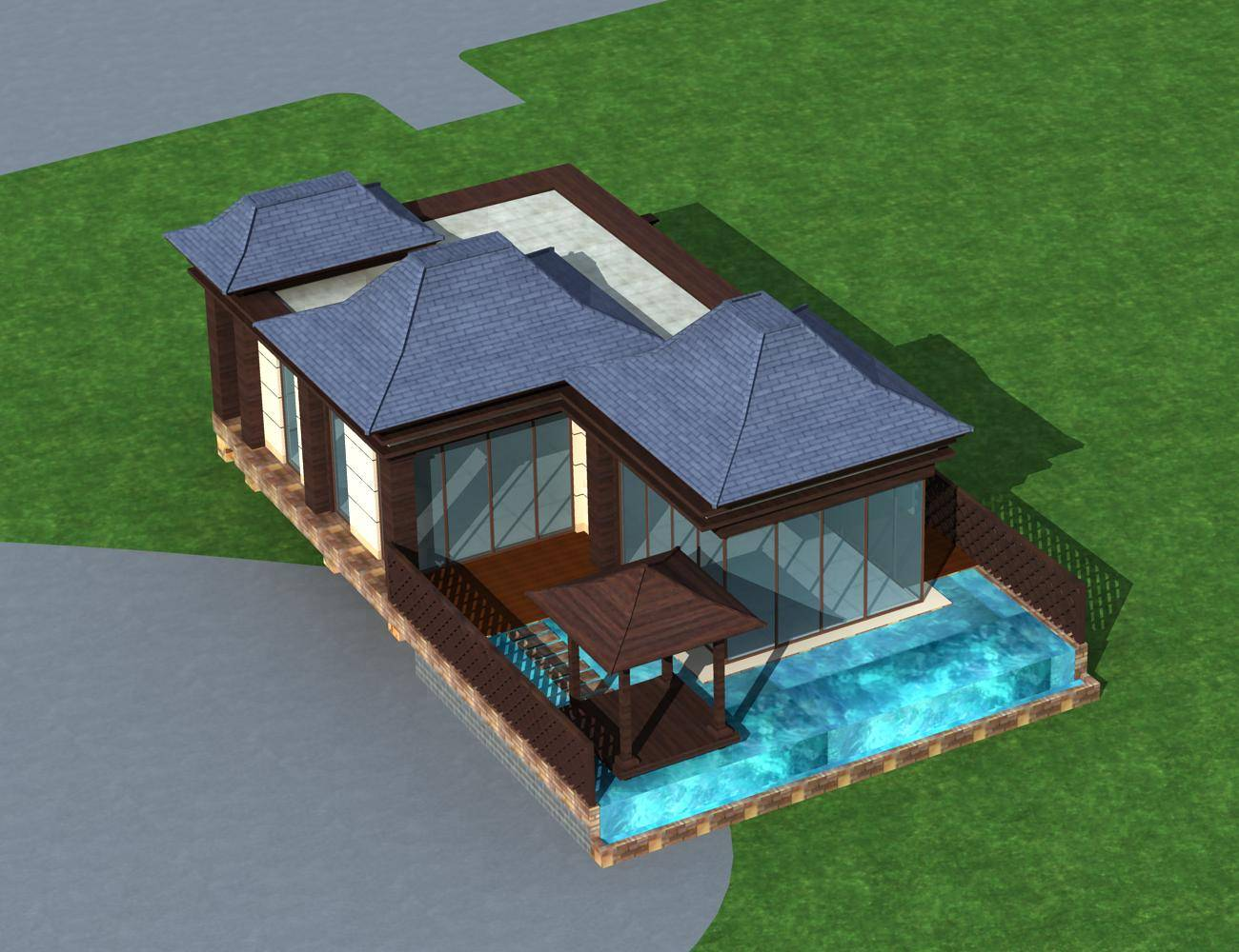 东南亚风格独栋别墅