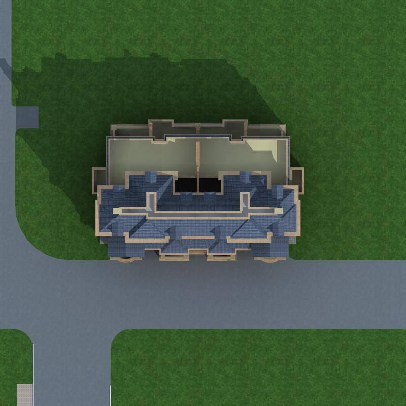 法式联排别墅