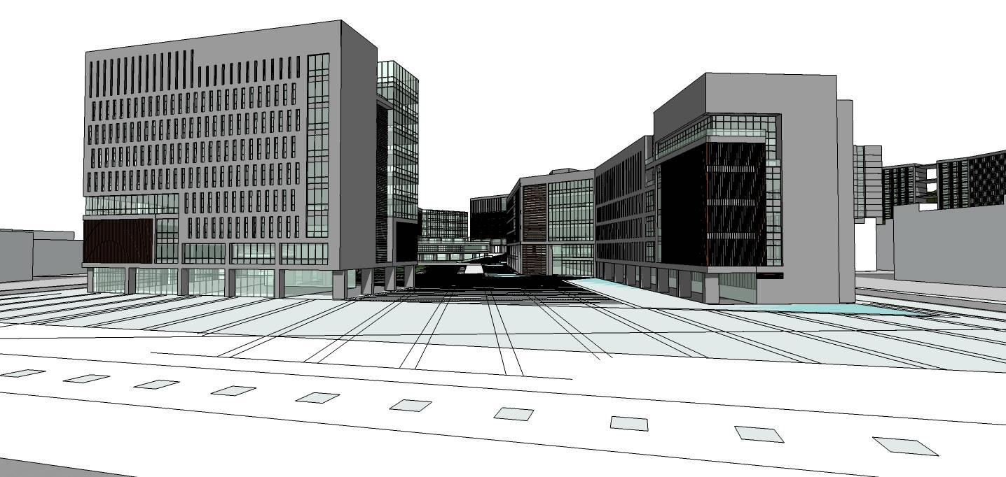 现代风格办公楼