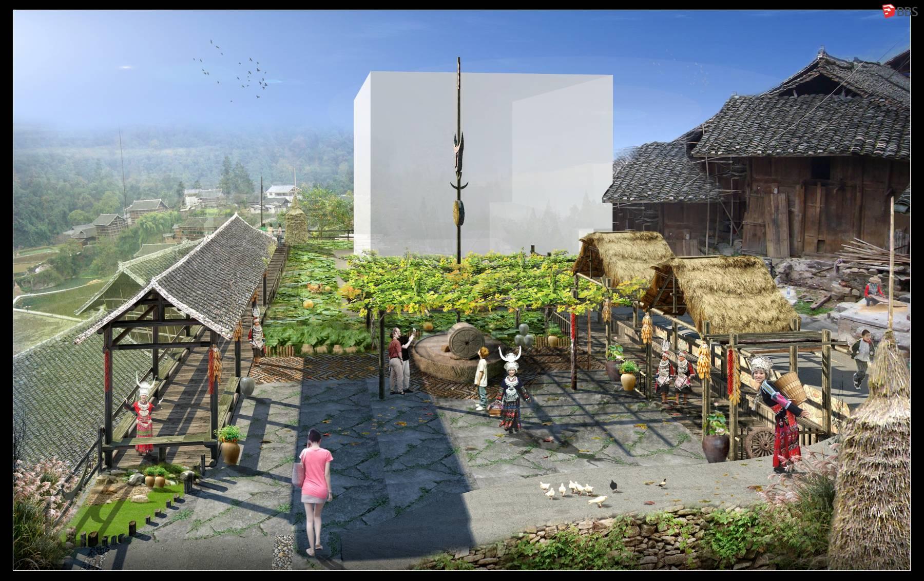 农村市场场景