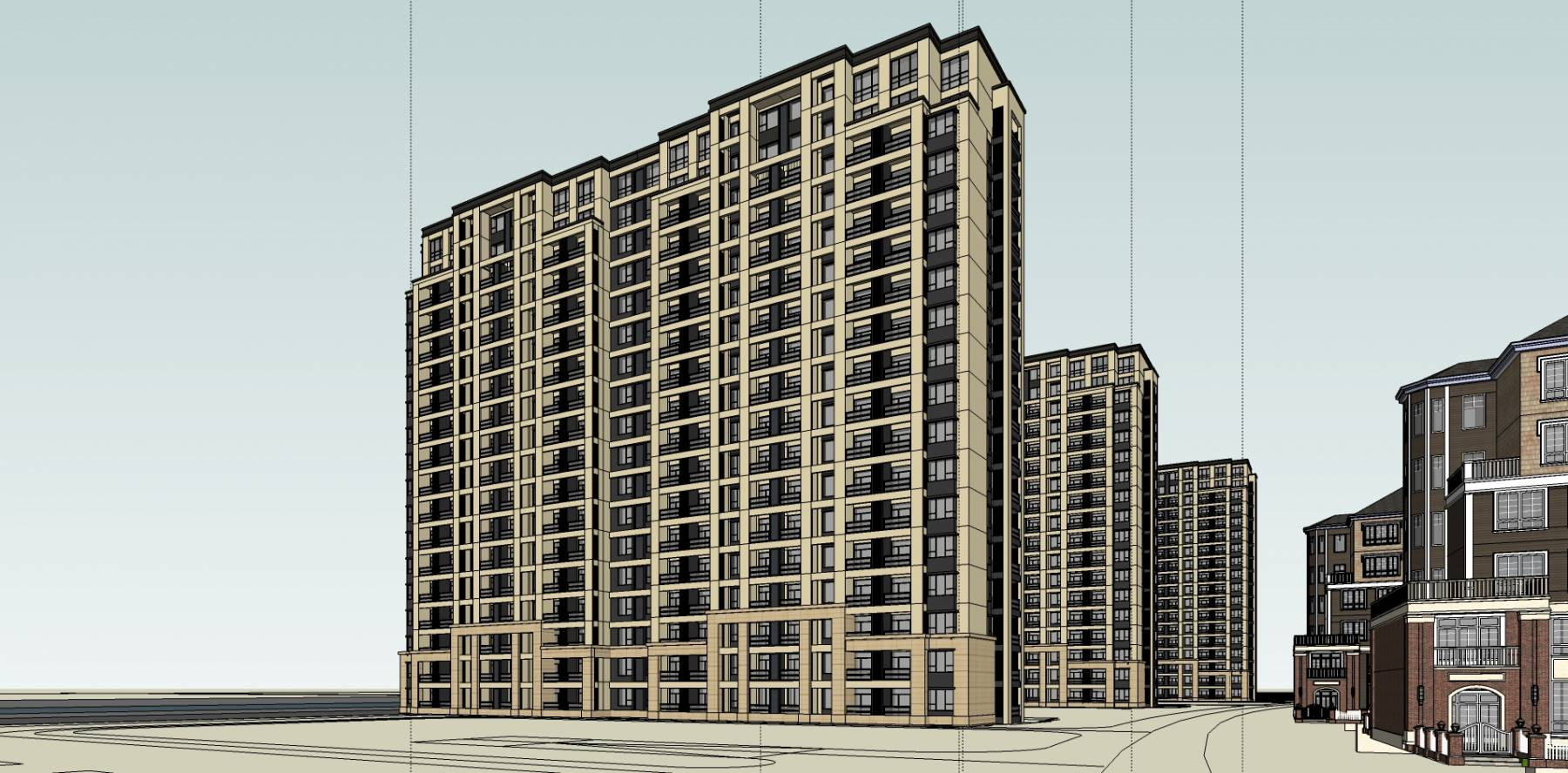 高层公寓及住宅及洋房别墅
