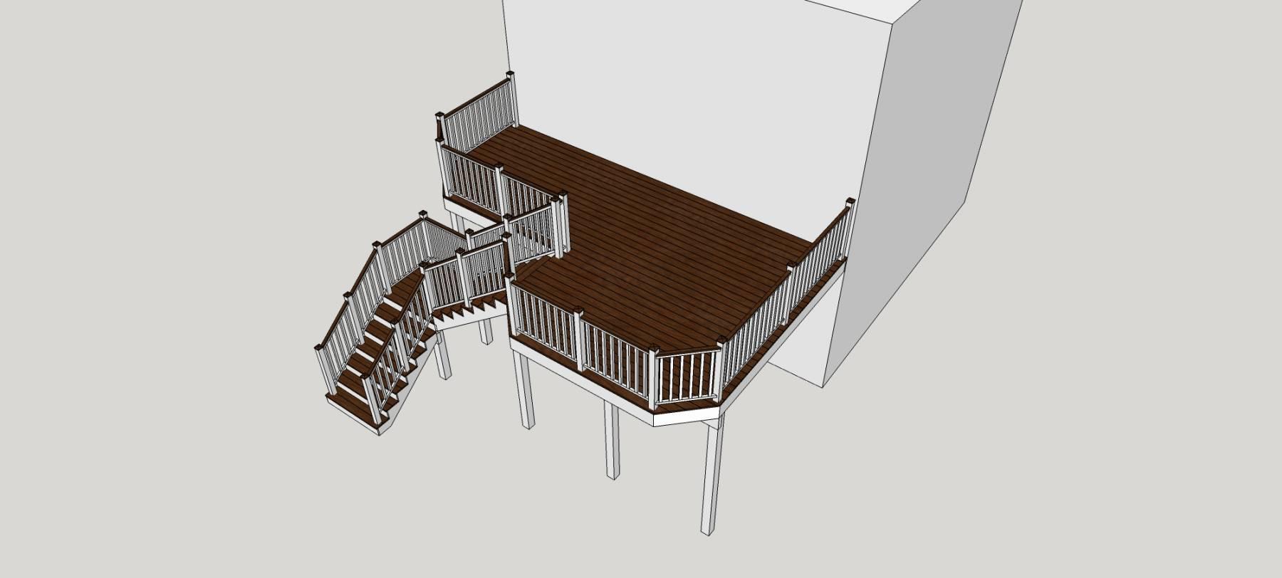 露台及楼梯