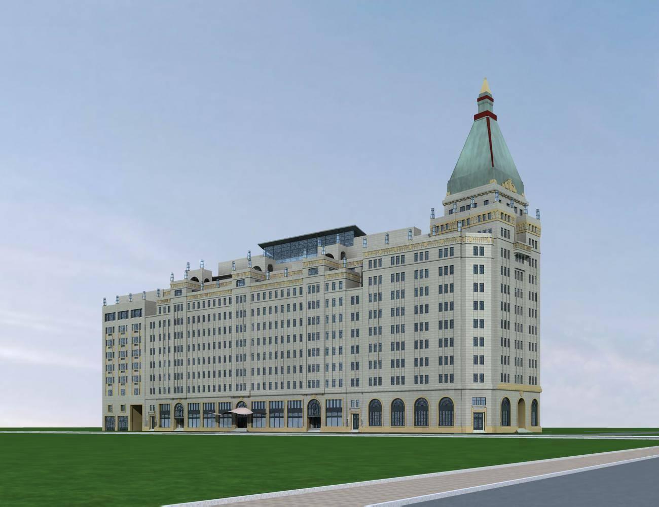 欧式小高层酒店